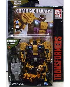 HASBRO TRANSFORMERS GENERATIONS 2015 [COMBINER WARS] DELUXE CLASS SWINDLE [COMIC BOOK INCLUDED]