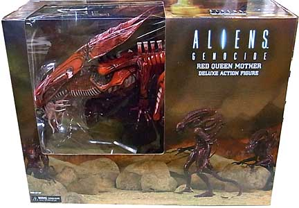 NECA ALIEN 7インチアクションフィギュア ALIENS GENOCIDE RED QUEEN MOTHER DELUXE ACTION FIGURE