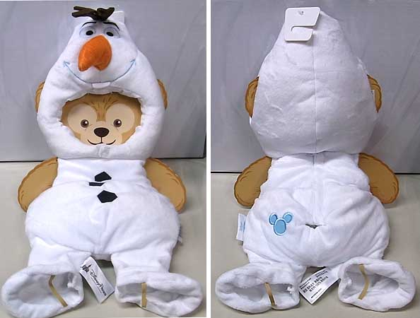 DISNEY USAディズニーテーマパーク限定 DUFFY THE DISNEY BEAR COSTUME [OLAF]