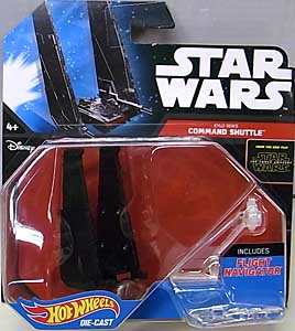 MATTEL HOT WHEELS STAR WARS THE FORCE AWAKENS DIE-CAST VEHICLE KYLO REN'S COMMAND SHUTTLE