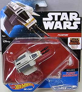 MATTEL HOT WHEELS STAR WARS DIE-CAST VEHICLE PHANTOM