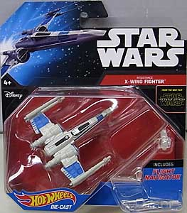 MATTEL HOT WHEELS STAR WARS THE FORCE AWAKENS DIE-CAST VEHICLE RESISTANCE X-WING FIGHTER