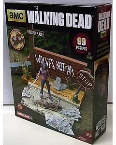 McFARLANE TOYS THE WALKING DEAD TV BUILDING SETS WOLVES NOT FAR
