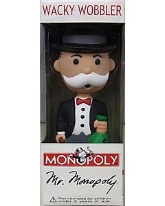 FUNKO WACKY WOBBLER MONOPOLY MR.MONOPOLY