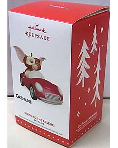 HALLMARK CHRISTMAS ORNAMENTS 2015 GREMLINS GIZMO TO THE RESCUE!