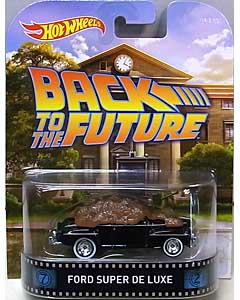 MATTEL HOT WHEELS 1/64スケール 2015 RETRO ENTERTAINMENT BACK TO THE FUTURE FORD SUPER DE LUXE