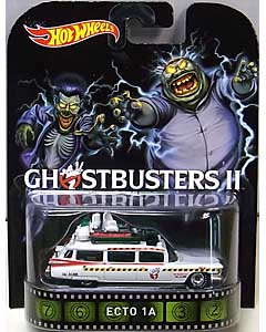 MATTEL HOT WHEELS 1/64スケール 2015 RETRO ENTERTAINMENT GHOSTBUSTERS II ECTO 1A
