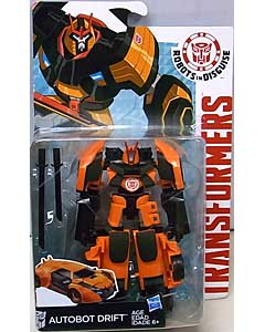 HASBRO アニメ版 TRANSFORMERS ROBOTS IN DISGUISE DELUXE CLASS AUTOBOT DRIFT