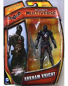 MATTEL DC COMICS MULTIVERSE 4インチアクションフィギュア BATMAN: ARKHAM KNIGHT MYSTERIOUS VILLAIN ARKHAM KNIGHT