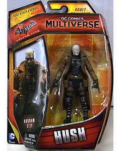 MATTEL DC COMICS MULTIVERSE 4インチアクションフィギュア BATMAN: ARKHAM CITY HUSH