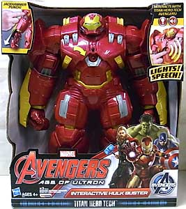 HASBRO 映画版 AVENGERS: AGE OF ULTRON TITAN HERO TECH INTERACTIVE HULK BUSTER
