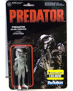 FUNKO x SUPER 7 REACTION FIGURES 3.75インチアクションフィギュア ENTERTAIMENT EARTH限定 PREDATOR PREDATOR [GLOW VERSION]