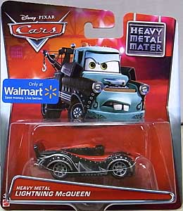 MATTEL CARS 2015 USA WALMART限定 CARS TOON シングル HEAVY METAL MATER HEAVY METAL LIGHTNING McQUEEN 台紙傷み特価