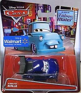 MATTEL CARS 2015 USA WALMART限定 CARS TOON シングル TOKYO MATER KABUTO NINJA 台紙傷み特価