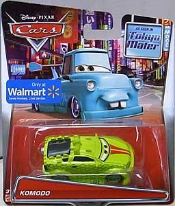 MATTEL CARS 2015 USA WALMART限定 CARS TOON シングル TOKYO MATER KOMODO ブリスター傷み特価