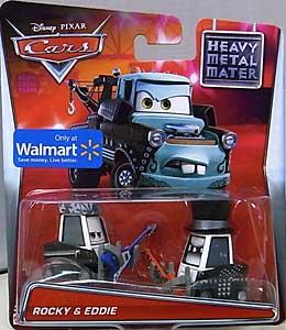 MATTEL CARS 2015 USA WALMART限定 CARS TOON シングル HEAVY METAL MATER ROCKY & EDDIE ブリスター傷み特価