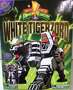 USA BANDAI POWER RANGERS MIGHTY MORPHIN LEGACY WHITE TIGERZORD