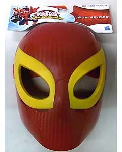HASBRO ULTIMATE SPIDER-MAN WEB WARRIORS HERO MASK IRON SPIDER