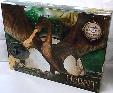 BRIDGE DIRECT THE HOBBIT: THE BATTLE OF THE FIVE ARMIES DELUXE POSEABLE SMAUG