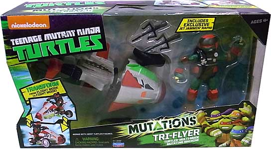 PLAYMATES NICKELODEON TEENAGE MUTANT NINJA TURTLES ビークル 2015 MUTATIONS TRI-FLYER