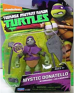 PLAYMATES NICKELODEON TEENAGE MUTANT NINJA TURTLES ベーシックフィギュア 2015 MYSTIC DONATELLO 台紙傷み特価