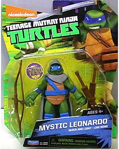 PLAYMATES NICKELODEON TEENAGE MUTANT NINJA TURTLES ベーシックフィギュア 2015 MYSTIC LEONARDO 台紙傷み特価