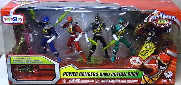 USA BANDAI POWER RANGERS DINO CHARGE 5インチアクションフィギュア POWER RANGERS DINO ACTION PACK