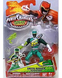 USA BANDAI POWER RANGERS DINO CHARGE 5インチアクションフィギュア GREEN RANGER
