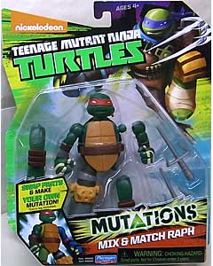 PLAYMATES NICKELODEON TEENAGE MUTANT NINJA TURTLES ベーシックフィギュア 2015 MUTATIONS MIX & MATCH RAPH