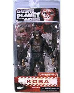 NECA DAWN OF THE PLANET OF THE APES 7インチアクションフィギュア シリーズ2 KOBA