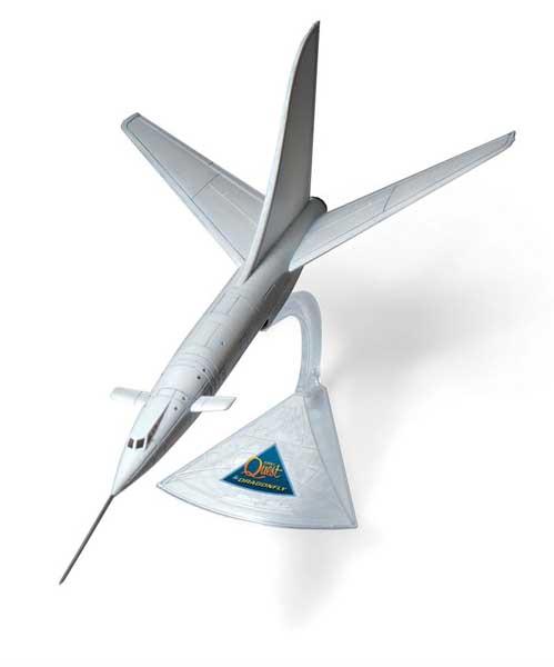 メビウスモデル 12インチ ジョニークエスト ドラゴンフライ 組み立て式プラモデル