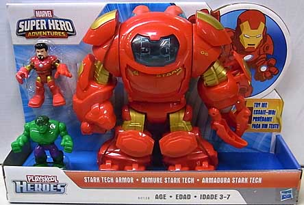 HASBRO PLAYSKOOL HEROES MARVEL SUPER HERO ADVENTURES STARK TECH ARMOR