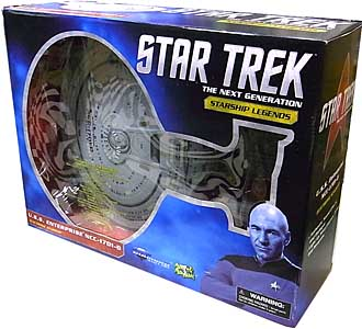 DIAMOND SELECT STAR TREK THE NEXT GENERATION STARSHIP LEGENDS U.S.S. ENTERPRISE NCC-1701-D