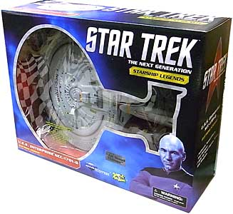 DIAMOND SELECT STAR TREK THE NEXT GENERATION STARSHIP LEGENDS U.S.S. ENTERPRISE NCC-1701-D [ALL GOOD THINGS] パッケージ傷み特価