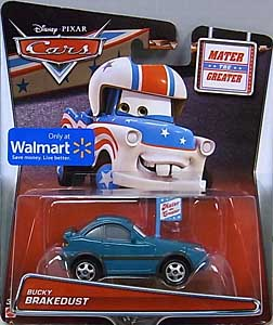 MATTEL CARS 2015 USA WALMART限定 CARS TOON シングル MATER THE GREATER BUCKY BRAKEDUST