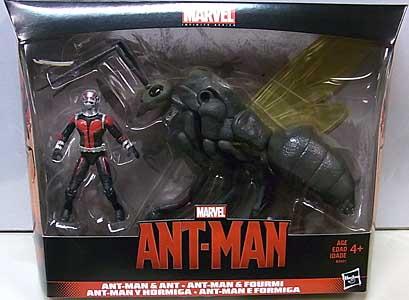 HASBRO MARVEL INFINIT SERIES 3.75インチ 映画版 ANT-MAN ANT-MAN & ANT