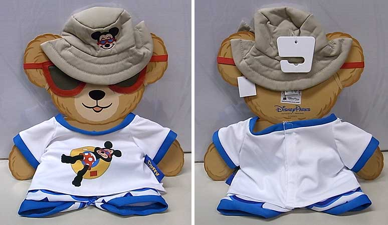 DISNEY USAディズニーテーマパーク限定 DUFFY THE DISNEY BEAR COSTUME [SUMMER VACATION]