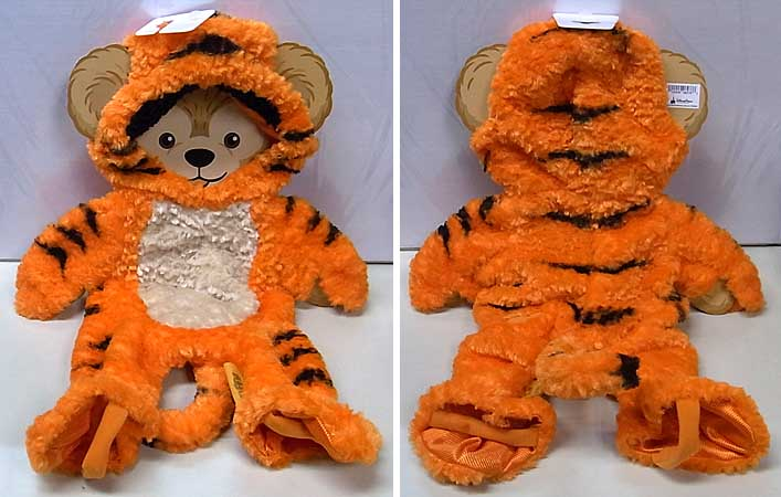 DISNEY USAディズニーテーマパーク限定 DUFFY THE DISNEY BEAR COSTUME [TIGGER]