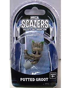 NECA SCALERS 映画版 GUARDIANS OF THE GALAXY POTTED GROOT