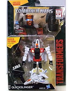 HASBRO TRANSFORMERS GENERATIONS 2015 [COMBINER WARS] DELUXE CLASS QUICKSLINGER [COMIC BOOK INCLUDED]