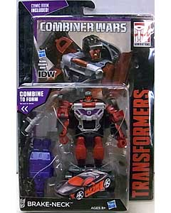 HASBRO TRANSFORMERS GENERATIONS 2015 [COMBINER WARS] DELUXE CLASS BRAKE-NECK [COMIC BOOK INCLUDED]