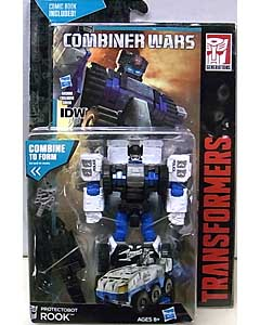 HASBRO TRANSFORMERS GENERATIONS 2015 [COMBINER WARS] DELUXE CLASS PROTECTOBOT ROOK [COMIC BOOK INCLUDED] 台紙傷み特価