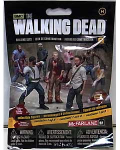 McFARLANE TOYS THE WALKING DEAD TV BUILDING SETS BLIND BAG [HUMAN] SERIES 2 1 PACK
