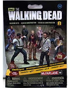 McFARLANE TOYS THE WALKING DEAD TV BUILDING SETS BLIND BAG [WALKER] SERIES 2 1 PACK