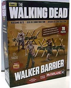 McFARLANE TOYS THE WALKING DEAD TV BUILDING SETS WALKER BARRIER