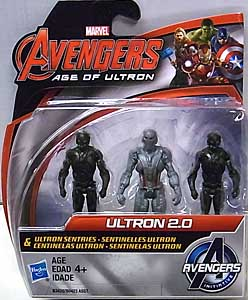 HASBRO 映画版 AVENGERS: AGE OF ULTRON 2.5インチアクションフィギュア ULTRON 2.0 & ULTRON SENTRIES 3PACK