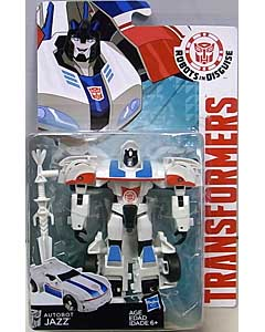 HASBRO アニメ版 TRANSFORMERS ROBOTS IN DISGUISE DELUXE CLASS AUTOBOT JAZZ