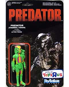 FUNKO x SUPER 7 REACTION FIGURES 3.75インチアクションフィギュア USA TOYSRUS限定 PREDATOR PREDATOR [THERMAL VISION]