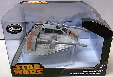 STAR WARS USAディズニーストア限定 DIE CAST VEHICLE SNOWSPEEDER