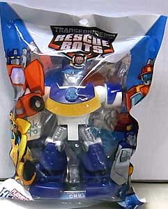 HASBRO TRANSFORMERS RESCUE BOTS PLAYSKOOL HEROES CHASE THE POLICE-BOT
